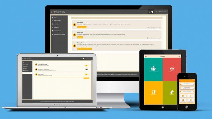 PlusPrivacy, l'app per gestire i dati personali online