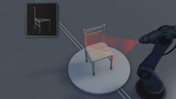 SelfPaint, il robot che dipinge con l'accuratezza di un pittore