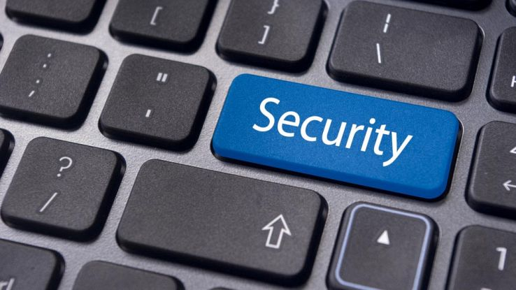 Il simbolo security nella tastiera di un PC