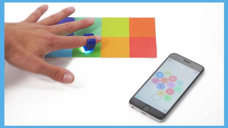 Specdrums, l'anello smart che trasforma i colori in suoni