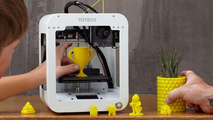 Toybox, la stampante 3D che crea giocattoli per bambini