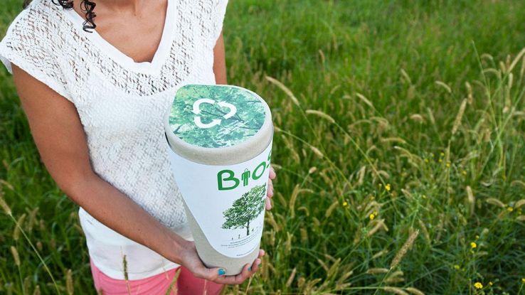 Bios Urn, il vaso smart per far crescere alberi in casa