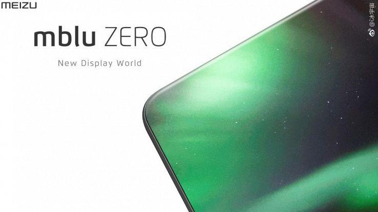 Meizu mblu Zero, senza bordi e con doppia fotocamera