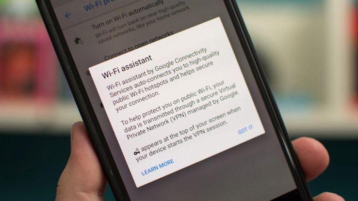 Connessione sicura Android O