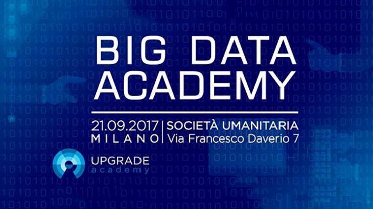 Big data Academy, appuntamento a Milano il 21 settembre