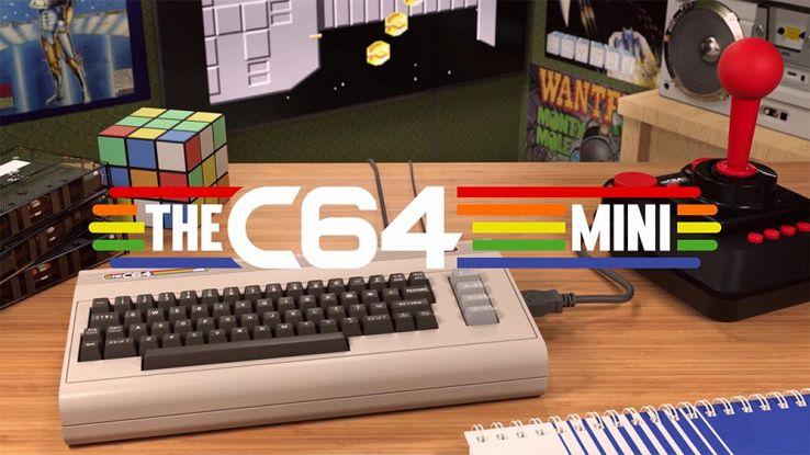 C64 mini, il Commodore torna in pista con 64 titoli del passato