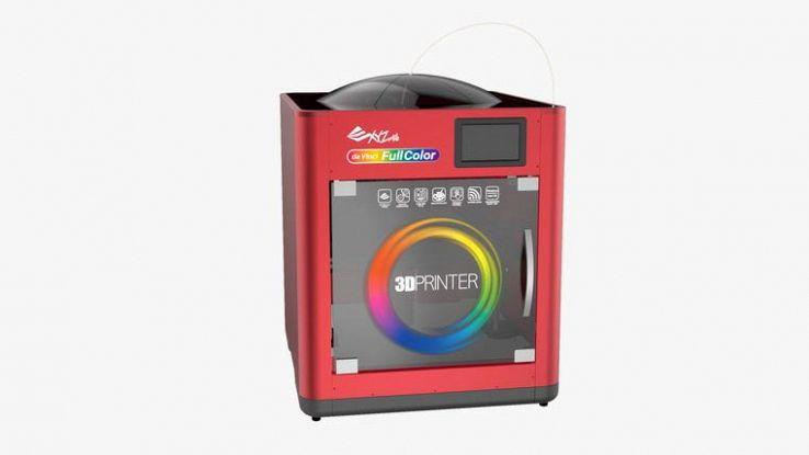 Da Vinci Color, la stampante 3D che colora gli oggetti che crea