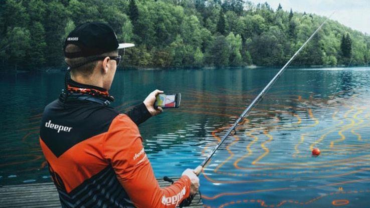 Deeper, il sonar da pesca che si collega allo smartphone