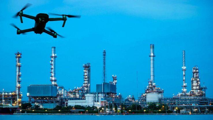 Droni e robot sempre più impiegati nella sicurezza industriale