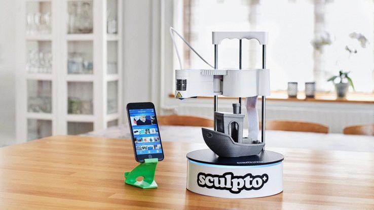 Sculpto+, la stampante 3D facile da utilizzare