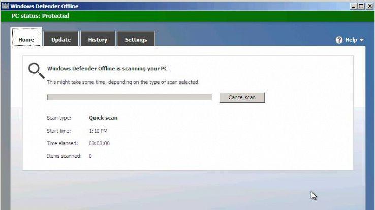 Windows 10, perché tutti dovrebbero usare Windows Defender Offline