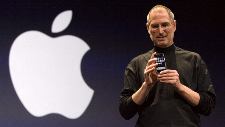 Steve Jobs, all'asta rivista autografata
