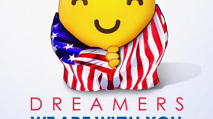 Usa, una emoji per sostenere i Dreamers