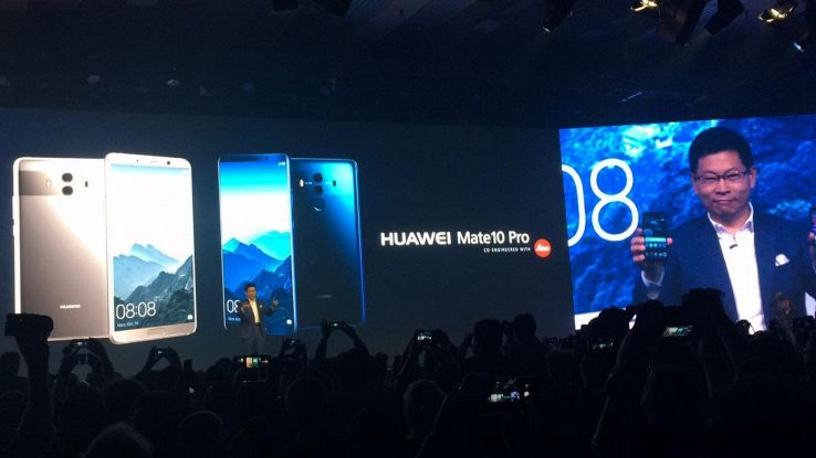 Huawei aggiorna software Mate 10 Pro