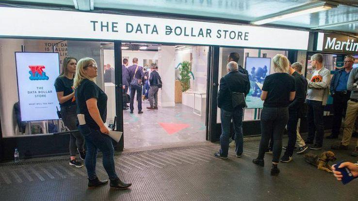 Niente soldi,nel negozio si paga in dati