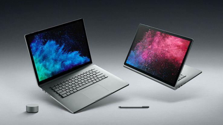 Microsoft sfida Apple con Surface Book 2