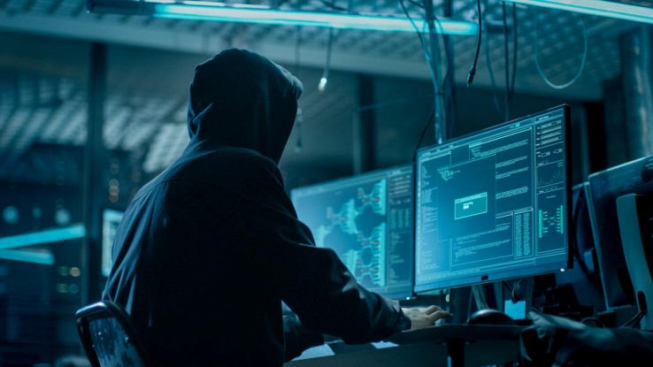 Hacker attacca server