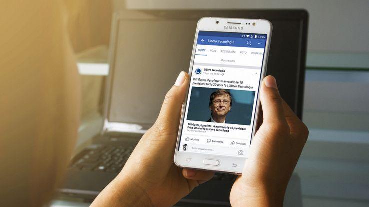 Facebook, gli Instant Articles ora a pagamento. Anche in Italia