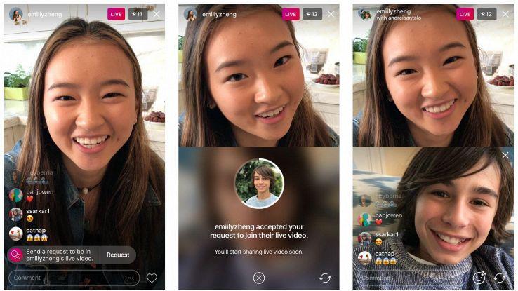 Instagram facilita le dirette condivise