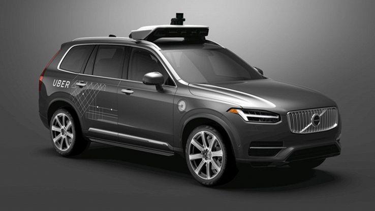 Volvo e Uber, accordo per guida autonoma