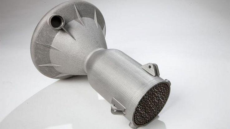 Acciaio stampato in 3D tre volte più resistente del normale
