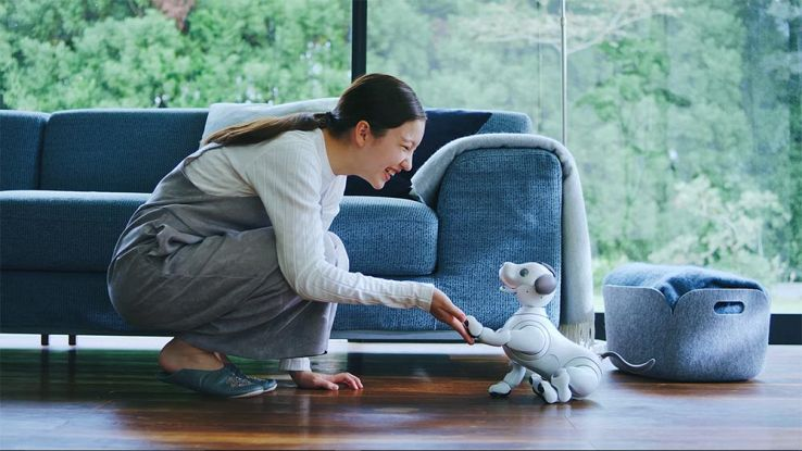 Torna Aibo, il cane robot da compagnia