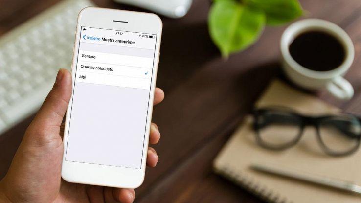Come nascondere le notifiche dalla schermata di blocco dell'iPhone