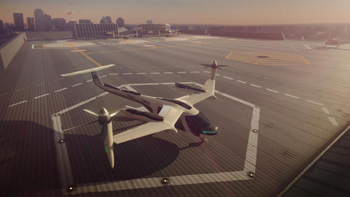 Uber testerà a Los Angeles i 'taxi volanti' nel 2020