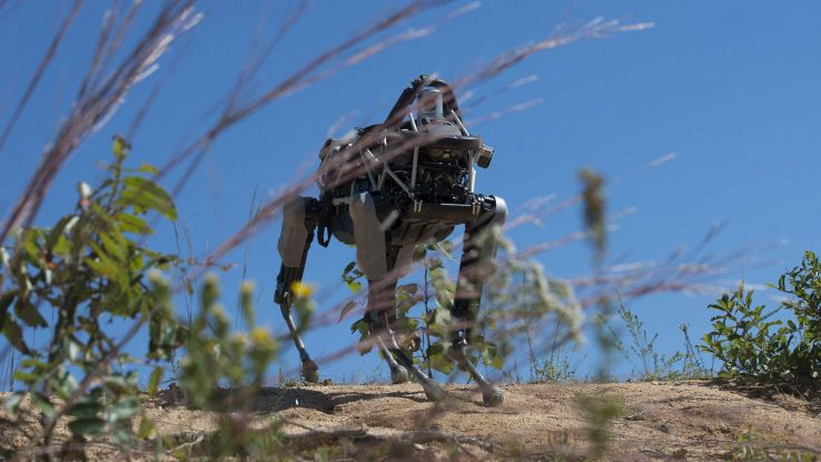 Boston Dynamics svela un cane robot