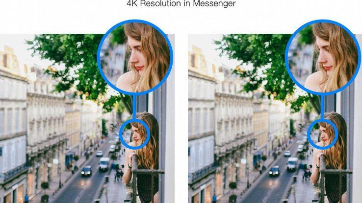 Su Messenger foto sempre più definite