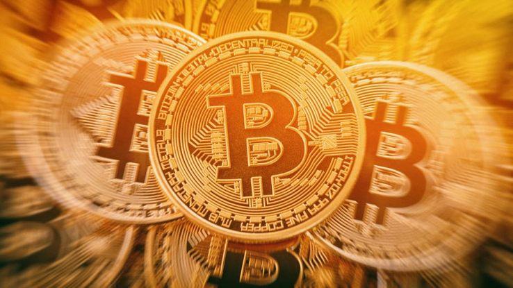 Un'immagine di alcuni Bitcoin
