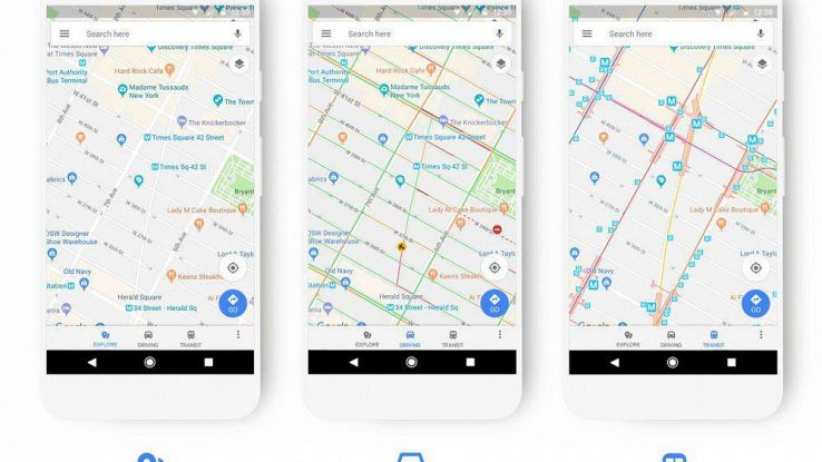 Google rifà il look alle Mappe
