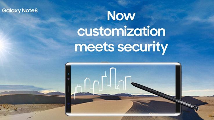 Galaxy Note 8 Enterprise Edition: sicurezza migliorata per le aziende