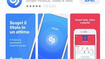 Shazam riconosce canzoni anche offline