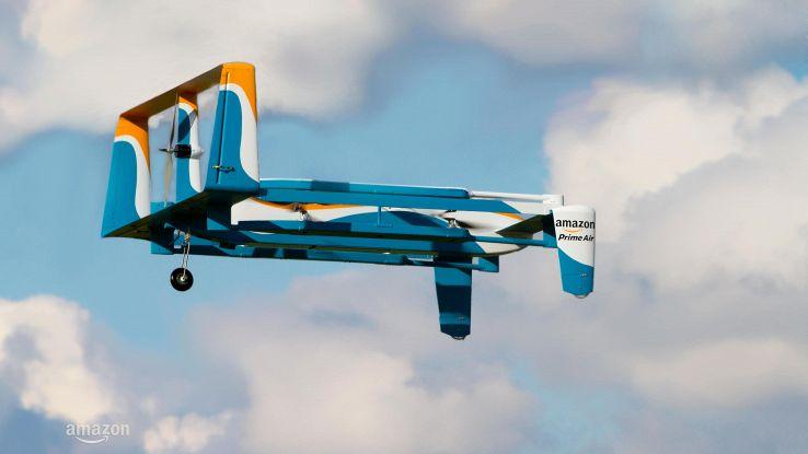 Droni consegne si 'autodistruggeranno'
