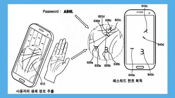 Samsung, gli smartphone del futuro leggeranno la mano