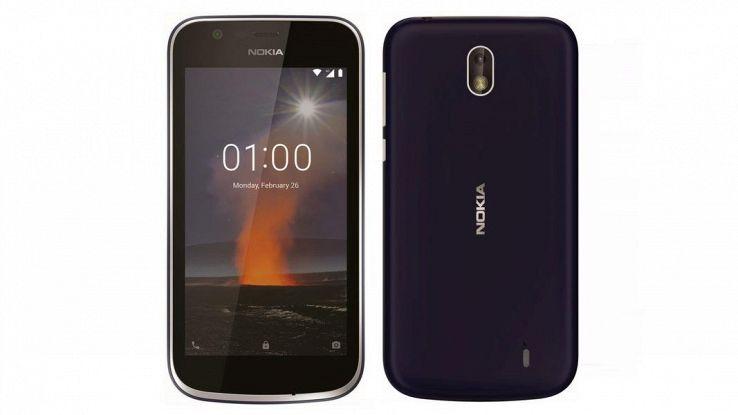 Nokia 1 con Android Go uscirà a marzo
