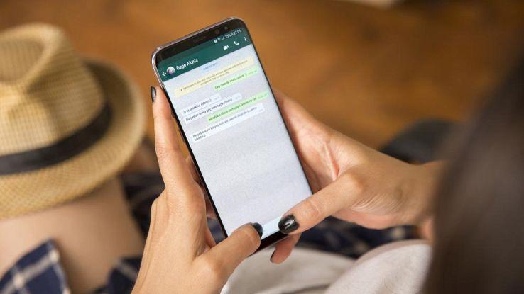 WhatsApp su smartphone