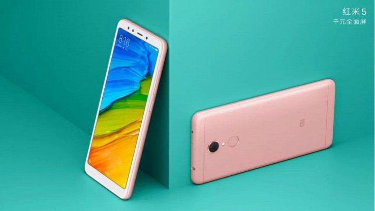Xiaomi Redmi 5 e 5 Plus, caratteristiche, prezzo, uscita in Italia