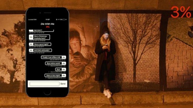 Die With Me, l'app che funziona solo con la batteria scarica