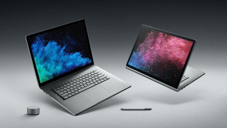 Microsoft, in Italia il Surface Book 2