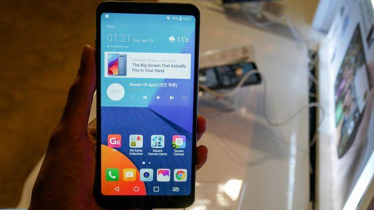 LG, il prossimo smartphone top di gamma non si chiamerà G7