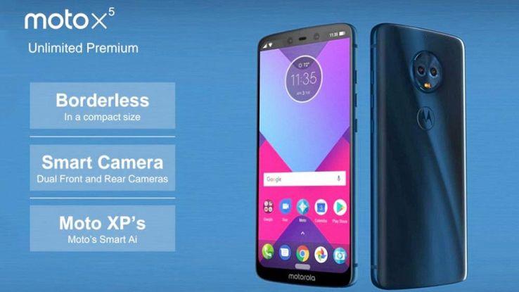 Smartphone Motorola 2018, svelati in anticipo il G6, X5 e Z3