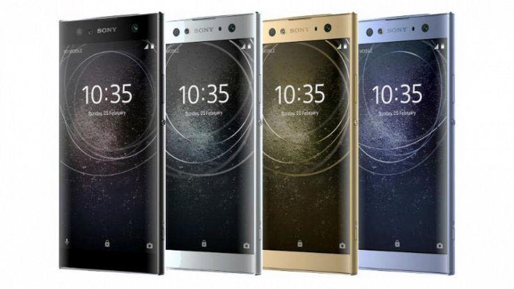 Sony Xperia XA2, XA2 Ultra e L2 ufficiali: caratteristiche e prezzo