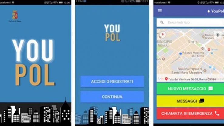 Come funziona YouPol, l'app per segnalare i bulli