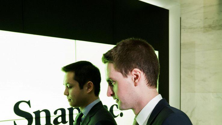 A Spiegel (Snapchat)compenso 638 mln dlr