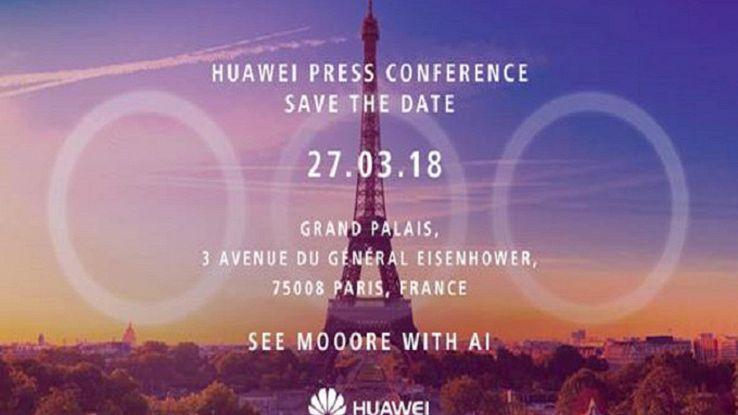 Huawei:tablet al MWC, P20 sarà a Parigi