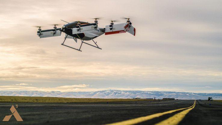 Airbus, prima prova per il taxi volante