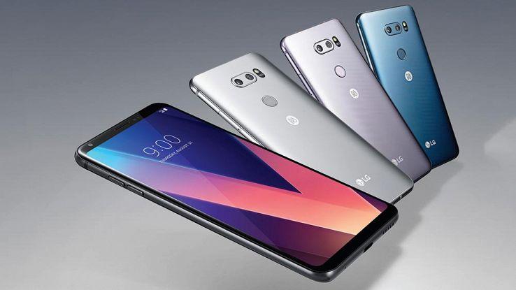 LG V30 2018 in arrivo con 256GB di memoria e intelligenza artificiale