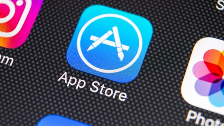 Il simbolo dell'App Store di Apple